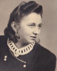 Jiřina Hajná, 1951