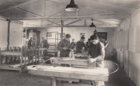 The continuing carpentry workshop, 1946