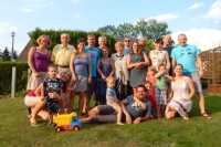 The family of the witness with all grandchildren and great-grandchildren, 2018