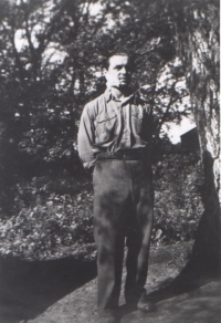 S. Hlučka after a neck injury accompanied by bombers