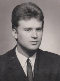 Miloslav Kořínek at about the end of his studies at the university.