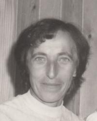Marie Podařilová (počátek 80. let dvacátého století)