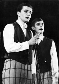 Luděk Nekuda and Pavel Veselý / the early 1960s / Ostrava