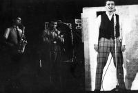 Luděk Nekuda / A cabaret performance 'Šlápoty' / Ostrava / the 1960s