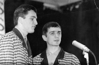 From the left Luděk Nekuda and Pavel Veselý