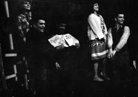 From the left Zuzana Majvaldová, Pavel Veselý, Petr Paprstein, Milena Šajdková, Luděk Nekuda