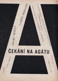 A poster for 'Čekání na Agátu' (Waiting for Agáta) / 1965