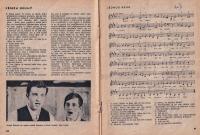 Luděk Nekuda and Pavel Veselý, also an excerpt from their play 'Čekání na Agátu' (Waiting for Agáta) / 1965