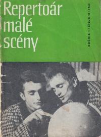 Pavel Veselý and Luděk Nekuda / 'Repertoár malé scény' magazine
