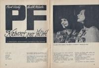 'Kabaret pro štěstí' performance / 1964