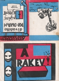 A programme of 'Ta rakev' ('That Coffin') Cabaret  / 1962 / Page 1