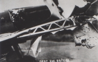 A broken wing on the return from an operational flight over France