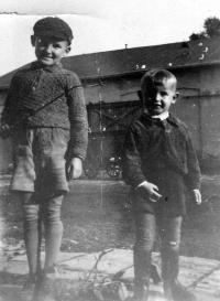 Jiří Bárta s bratrem