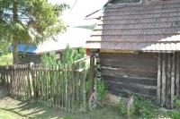 Houses that survived in Horna Stredna
