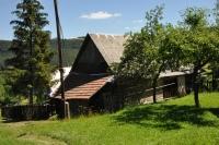 Restored building in Horna Stredna