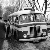 Český autobus Škoda / Čína / polovina 50. let