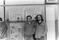 Petr Lutka and Emil Pospíšil, beggining of 1980s