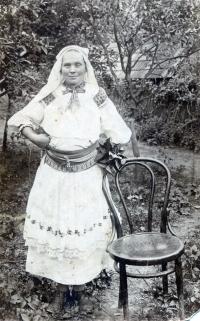 Albin's grandmother Zuzana Korbelova, lived with the family in Horna Streda
