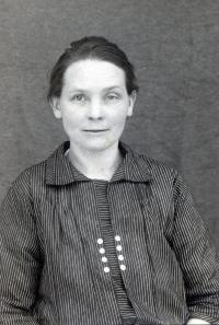 Zuzana Korbeľová, grandmother of Albín Jankulík, lived in Horna Stredna