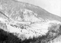 Horná Stredná in the winter
