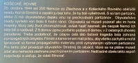 Entry in the Museum of Jan Zizka from Banoviec Partisan Brigade - description of the burning of Horna Stredna