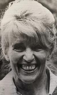 Otta Bednářová in 1978