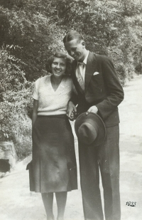 Witness' parents as a young couple, May 1932
