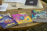 """Publications by Alik Olisevych, where he is the author or co-author (""""The Tale of Wonderful Years"""", """"Flower Revolution"""", """"Hippie in Lviv"""")"""