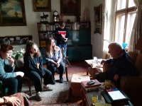 Recording with Mr. Marek