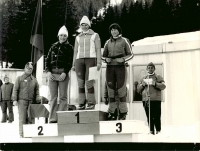 Ending third at the national championship in 1977