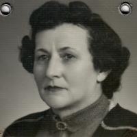 Her mother Marie Bubílková, probably 1950s