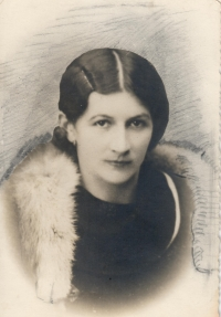 Her mother Marie Bubílková, probably before marriage