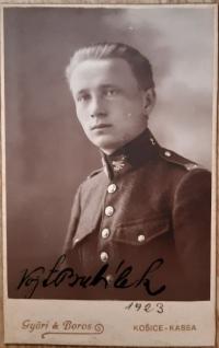 V. Bubílek, 1923