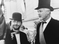 Jaroslav Veselý and Jaromír Gottlieb, founders of the Jičín - Město Pohádky Festival