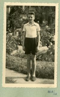 Josef Loub in 1941