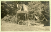 The camp of the renewed 7th Division of Catholic Scouts, summer 1945, Šumava