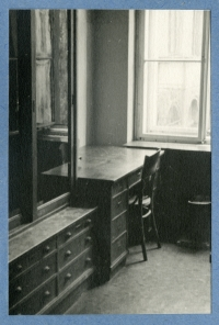 The laboratory of the Faculty of Science, Charles University (Josef's workplace), mid-1950s