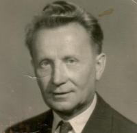 Her father Vojtěch Bubílek, 1964