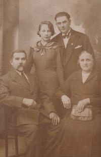 Jiřina Krušina's ancestors in Volhynia
