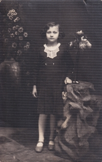 The Krušina family in Volhynia - as a girl