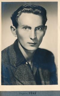 Jiří Vodenka in 1945