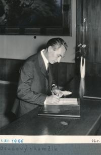Jiří Vodenka in 1966