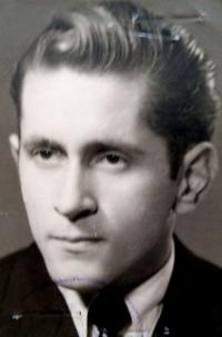Ján Bajtoš as a sixteen-years-old (1954).