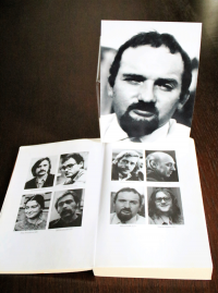 A photo of Milan Hulík in the publication of the Committee for the Defense of Unjustly Accused, where he is listed as a lawyer