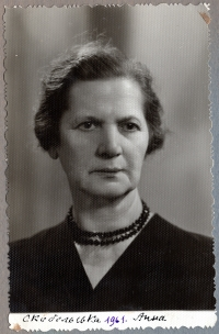 Anna Skobelska, grandmother, 1961