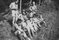 Tramping camp Tornádo