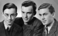 The brothers Milan, Zdeněk and Oldřich Vašák