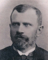 Great-grandfather František Volman in 1880