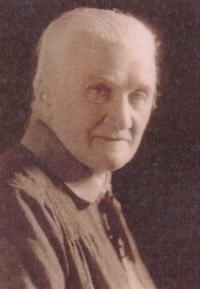Great-grandmother Anna, née Helclová