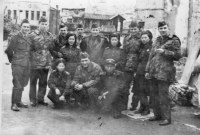 Czechoslovak soldiers during the peace mission in Korea, in the photo with North Korean soldiers